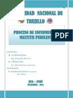 PAE DE MASTITIS PURULENTA