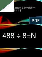 Math lesson 6