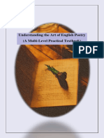 The Art of Poetry / English Poetry/ How to scan a poem? / How to analyze a poem? / How to read a poem?