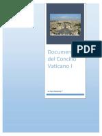 Documentos Del Concilio Vaticano I