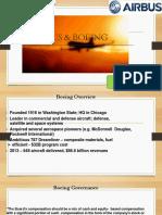 Boeing & Airbus Case study