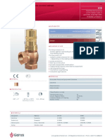 Overflow and pressure control valves