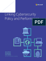 Microsoft - Linking Cybersecurity Policy and Performance