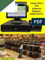 Liquor Store POS Software