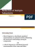 block diagram reduction Methods