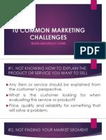 10-COMMON-MARKETING-CHALLENGES