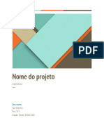 Proposta de projeto
