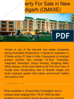 Best Property for Sale in New Chandigarh (OMAXE)
