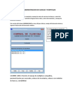 SISTEMA DE ADMINISTRACION DE CLINICAS Y HOSPITALES
