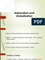 Nationalism and Globalization