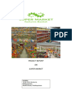 PROJECT REPORT ON SUPER MARKET