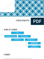 Stereochemistry (with seatwork)