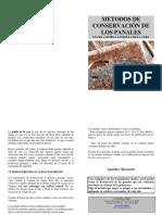 Metodo de conservacion de los panales
