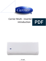 Carrier multi inverter introduction Spanish