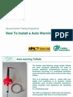 Module 4A -  Auto Warning Telltale Installation.pptx
