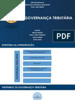 Governança Tributária - slides