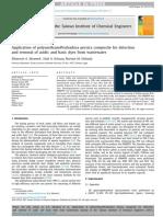 Application of polyurethane@salvadora persica composite for detection