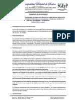 10 TDR-Saneamiento San Miguel, Perfil.docx