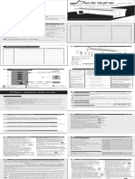 Donner DDP-100 Digital Piano Manuel