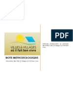 Méthodologie du palmarès des villes et villages où il fait bon vivre