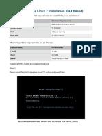 Installation Document