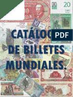 catalogo de venta billetes mundiales enero 2019