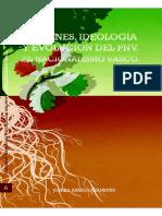 Origenes, Ideologia y Evolucion Del PNV