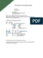 Ejemplo de Configuración de Zona DNS con Bind9