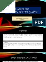 PPT Relative Afferent Pupil Defect (RAPD).pptx