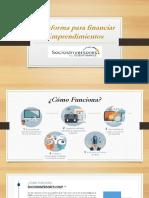 Plataforma para financiar Emprendimientos