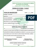 ACADEMIA DE FUTBOL  Y VOLEY PALMERAS