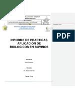 informe de farmacología
