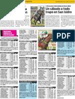 los resultados generales del 17 de enero en el Hipódromo de Palermo