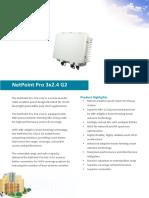 NetPoint Pro 3x2.4 G2 Data Sheet