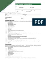 health_medical_questionnaire