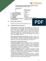INFORME PSICOLÓGICO DE CATTELL 16PF CARLOS