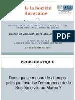 Exposé Rôle de La Société Civile Marocaine Version Finale