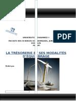 LA TRÉSORERIE ET SES MODALITÉS D ÉQUILIBRAGE - PDF Téléchargement Gratuit.pdf