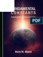 Menin B. Fundamental Constants. Evaluating Measurement Uncertainty 2019