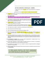 Instrucciones  laboratorio cinico suboficiales Hombres y mujeres