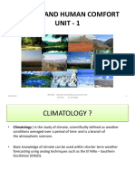 1. Factors that determine climate of a place