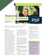 Mentoring an Overview MikeMunroTurner