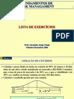 Lista de Exercicios - Chaia