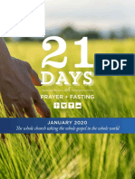 21 Days of Prayer 2020