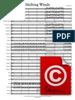 Shifting Winds - FA - Score sample