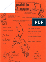 Armadillo Droppings - Issue #30, Sum 1994