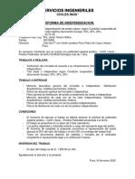 PROFORMA DE INDEPENDIZACION SERVICIOS INGENIERILES