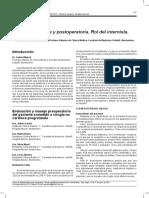 Rol internista en la Evaluación Preoperatoria