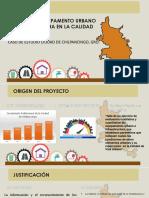EFECTOS DE LA INFRAESTRUCTURA Y EQUIPAMENTO URBANO EN LA CALIDAD DE VIDA URBANA