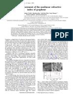 45Z-scanmeasurementofthenonlinearrefractiveindexofgraphene